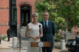 Claire Underwood White Dress