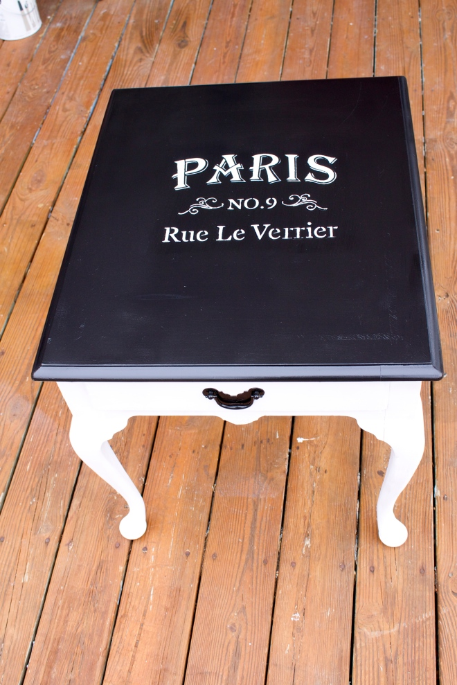 Parisian-Inspired Side Table