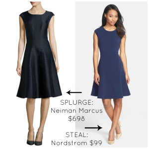 Navy Claire Underwood Style Dress