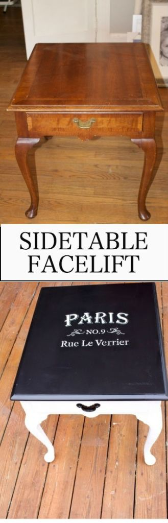 Sidetable Facelift